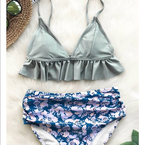df19b236f5 Cupshe High waisted Bikini